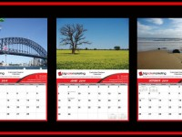 Your calendar can be your brochure that hangs on your customers wall for a year. Custom made business calendars for advertising and marketing
