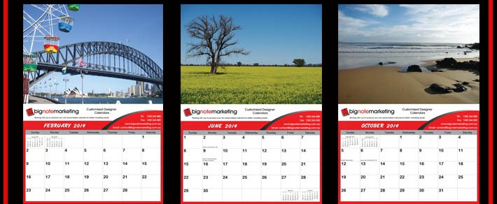 Custom Made Advertising Calendars
